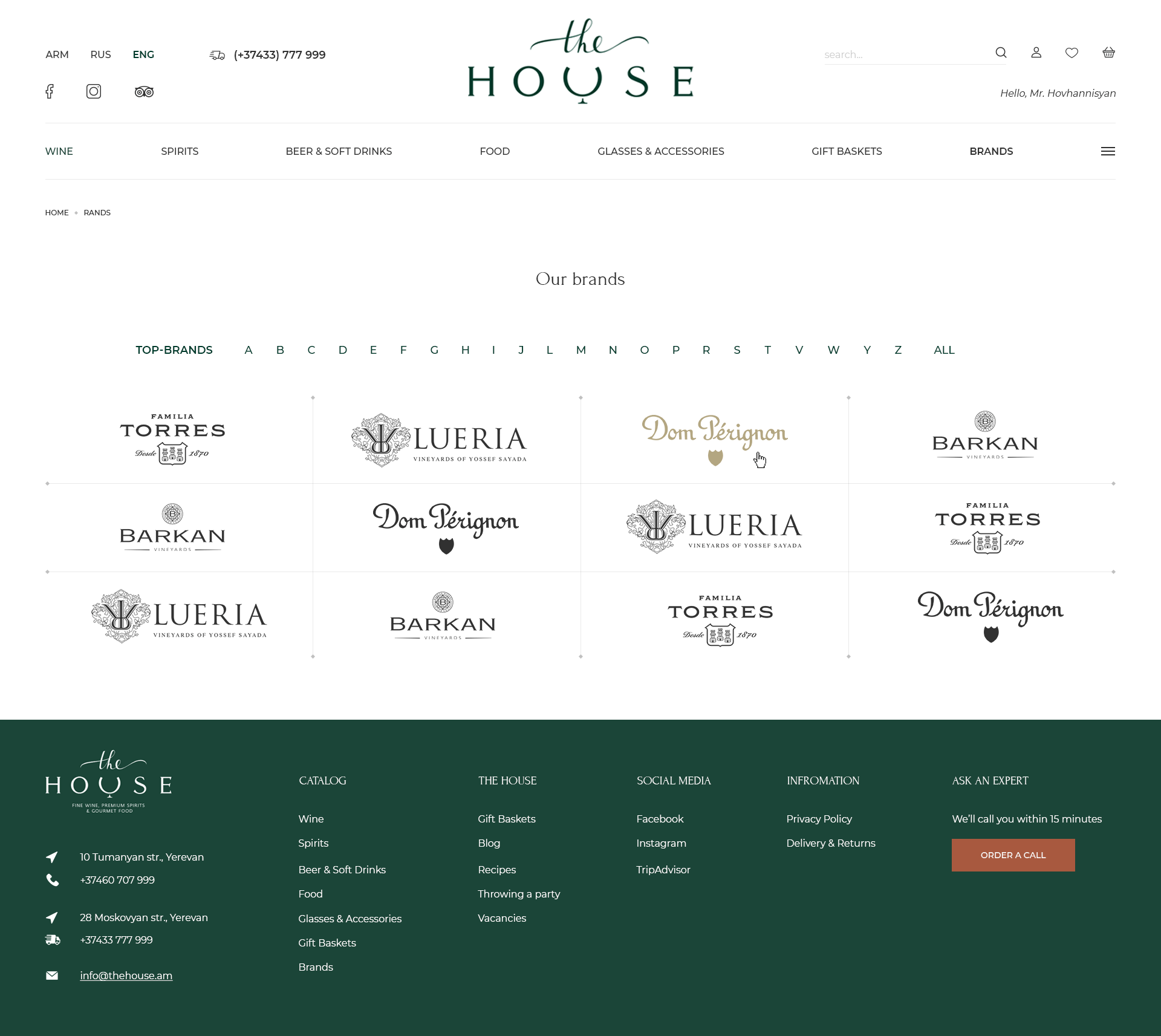 Brands The House